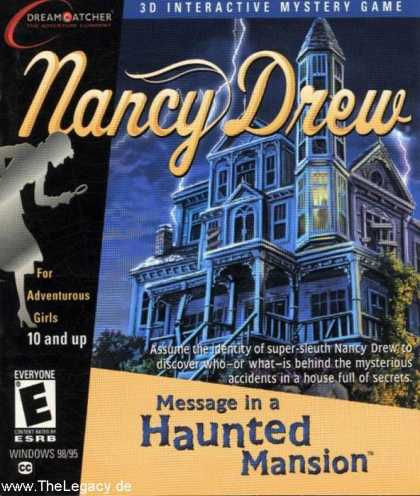 Misc. Games - Nancy Drew 3: Message in a Haunted Mansion