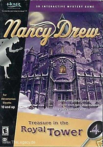 Misc. Games - Nancy Drew 4: Treasure in the Royal Tower