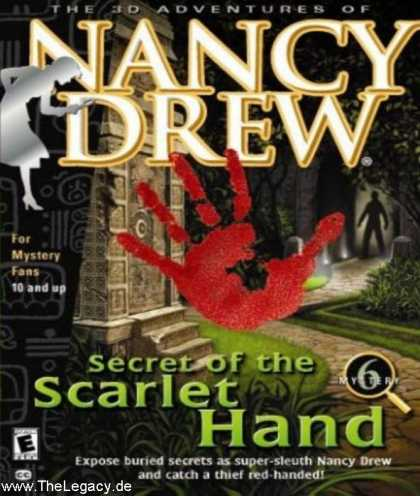 Misc. Games - Nancy Drew 6: Secret of the Scarlet Hand