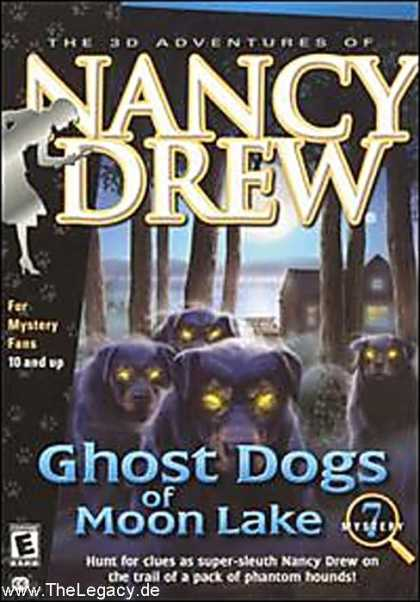 Misc. Games - Nancy Drew 7: Ghost Dogs of Moon Lake