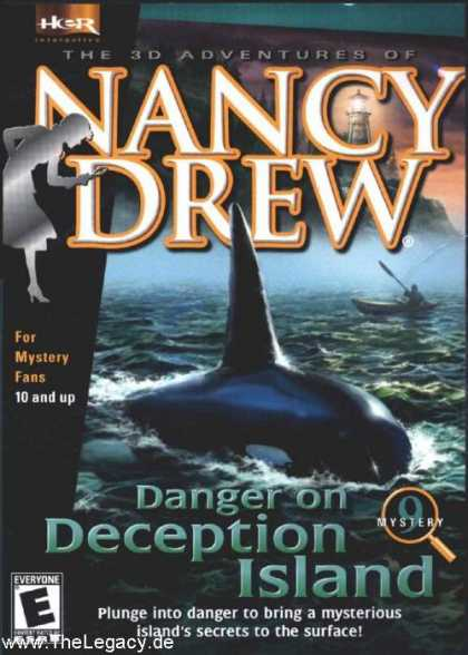 Misc. Games - Nancy Drew 9: Danger on Deception Island