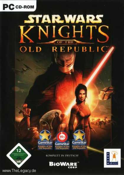 Misc. Games - Star Wars - Knights of the Old Republic