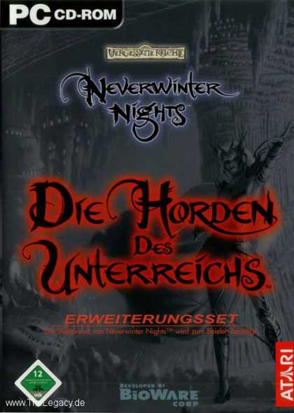 Misc. Games - Neverwinter Nights: Hordes of the Underdark