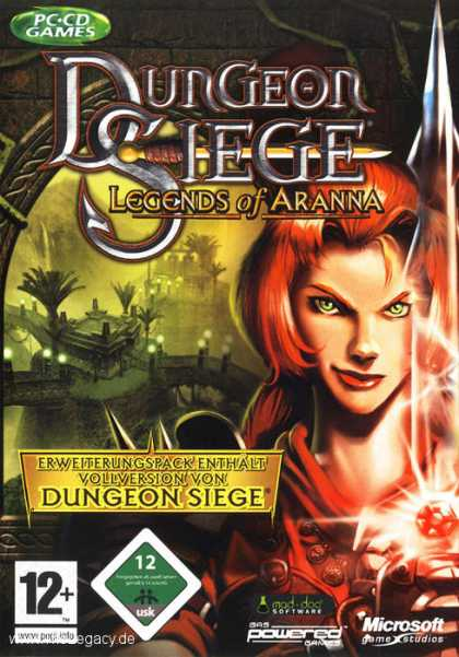 Misc. Games - Dungeon Siege: Legends of Aranna
