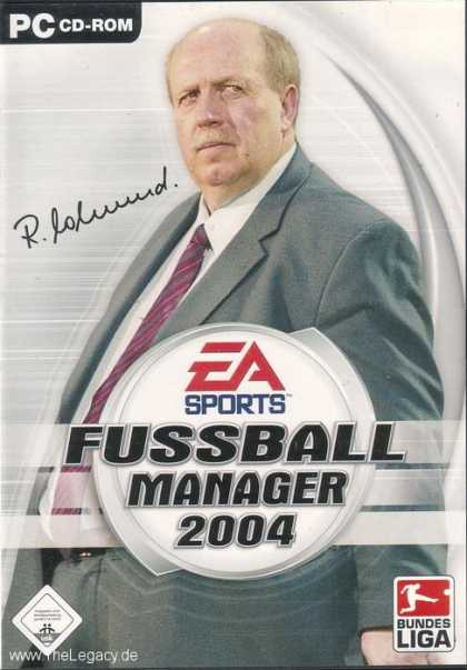 Misc. Games - Fussball Manager 2004