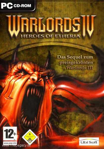 Misc. Games - Warlords IV: Battle of Etheria