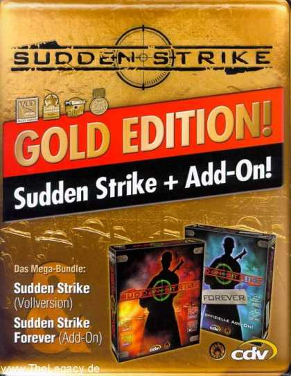 Misc. Games - Sudden Strike - Gold Edition!