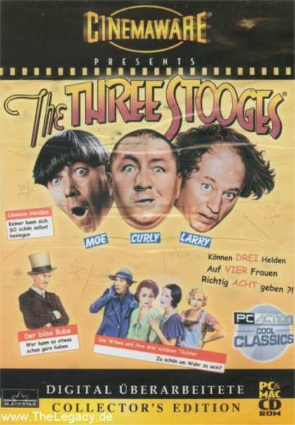 Misc. Games - Three Stooges, The - Digitally Remastered Collector's Edition