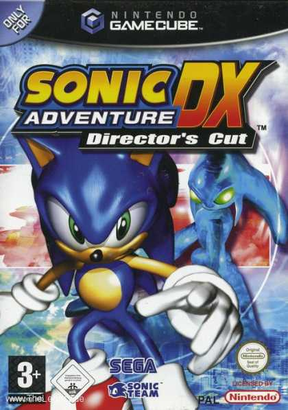 Misc. Games - Sonic Adventure DX - Director's Cut