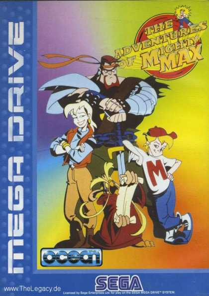Misc. Games - Adventures Of Mighty Max, The