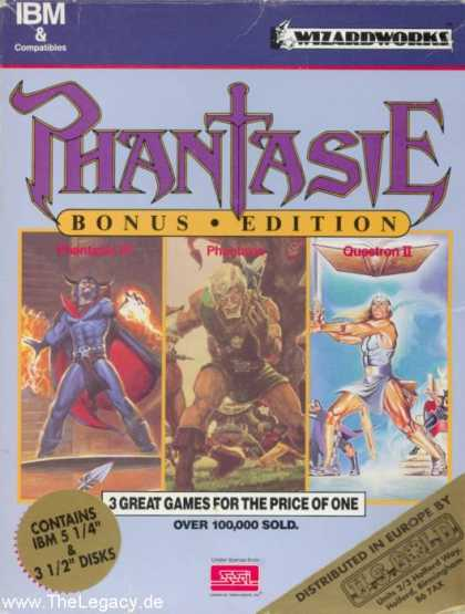 Misc. Games - Phantasie - Bonus Edition