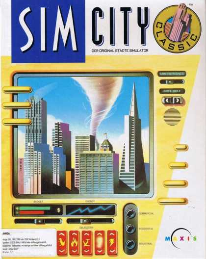 Misc. Games - Sim City for Windows