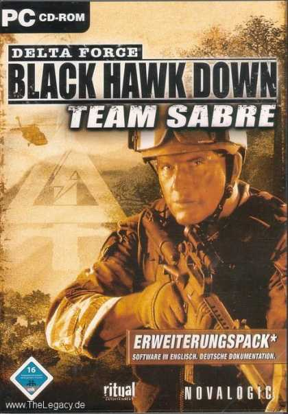 Misc. Games - Delta Force: Black Hawk Down - Team Sabre