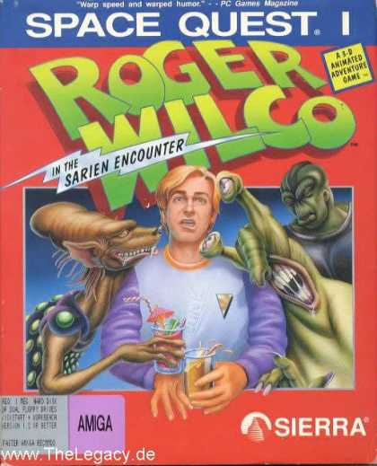 Misc. Games - Space Quest I: Roger Wilco in the Sarien Encounter