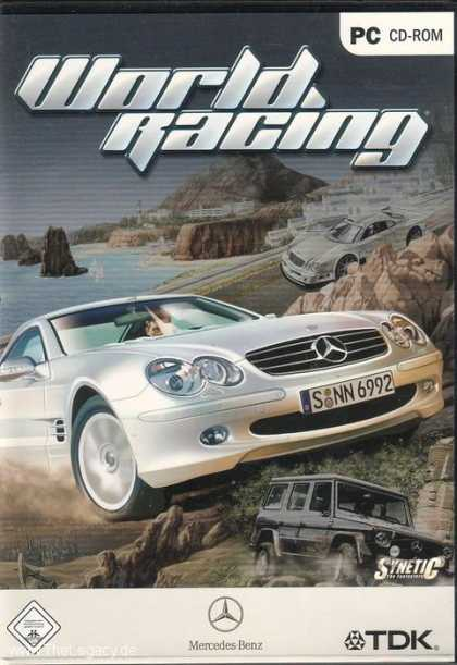 Misc. Games - World Racing - Mercedes Benz