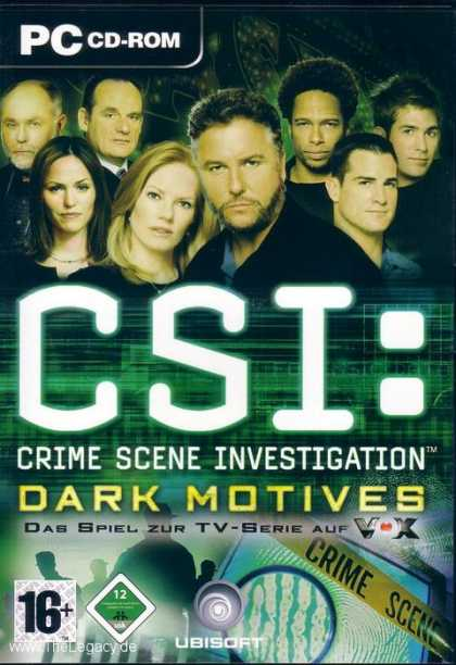 Misc. Games - CSI: Dark Motives