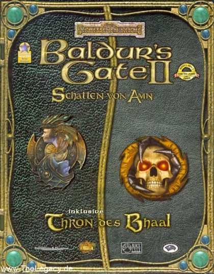 Misc. Games - Baldur's Gate II: Shadows of Amn + Thron of Bhaal