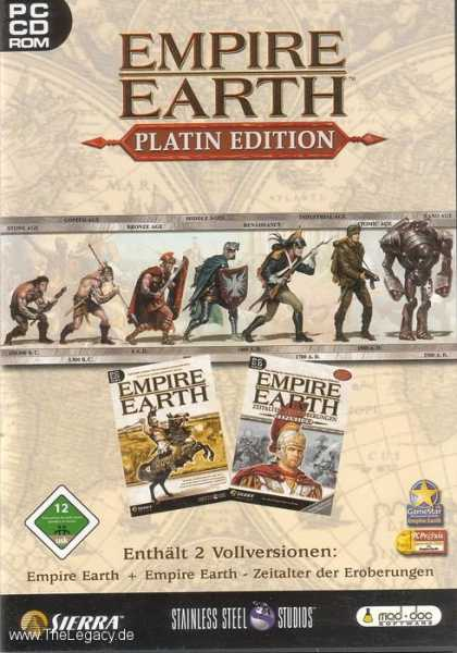 Misc. Games - Empire Earth - Platin Edition