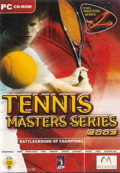 Misc. Games - Tennis Masters Series 2003