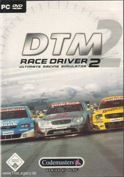 Misc. Games - DTM Race Driver 2: Ultimate Racing Simulator