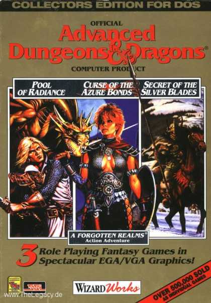 Misc. Games - Advanced Dungeons & Dragons - Collectors Edition 1