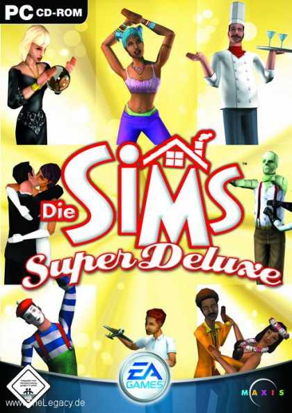 Misc. Games - Sims Super Deluxe, Die