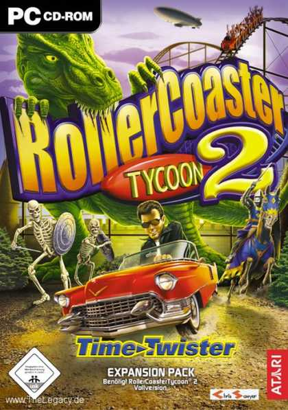 Misc. Games - Rollercoaster Tycoon 2: Time Twister