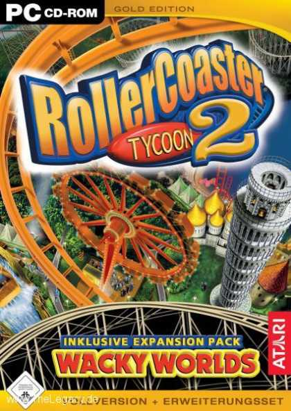Misc. Games - Rollercoaster Tycoon 2 - Gold Edition
