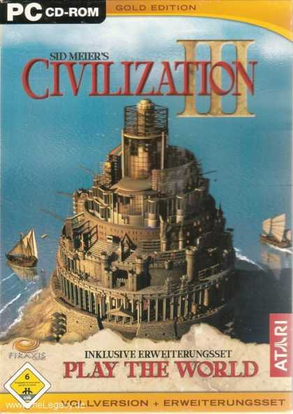 Misc. Games - Sid Meier's Civilization III Gold Edition