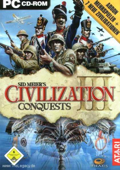 Misc. Games - Sid Meier's Civilization III: Conquests