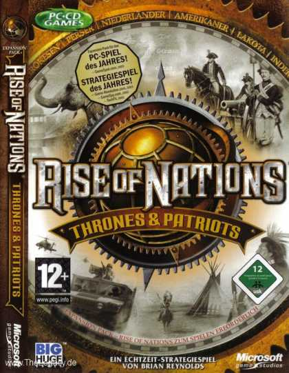 Misc. Games - Rise of Nations: Thrones & Patriots