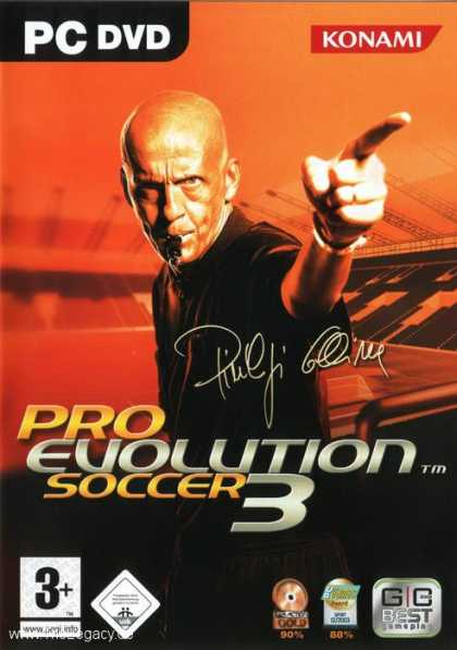Misc. Games - Pro Evolution Soccer 3