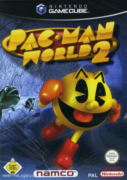 Misc. Games - Pac-Man World 2