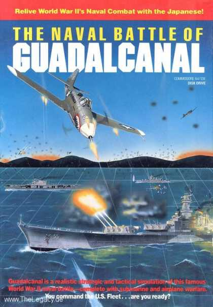 Misc. Games - Naval Battle of Guadalcanal, The