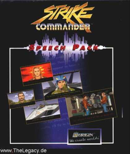 Misc. Games - Strike Commander - Speech Pack