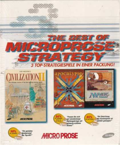 Misc. Games - Best of MicroProse Strategy, The