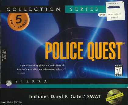 Misc. Games - Police Quest Collection Series