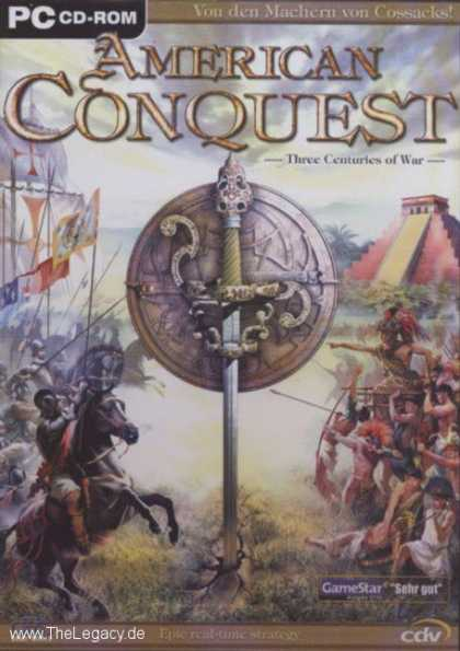 Misc. Games - American Conquest: Three Centuries of War