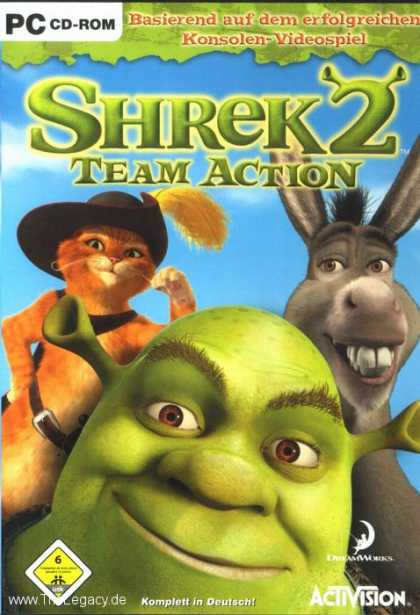 Misc. Games - Shrek 2: Team Action