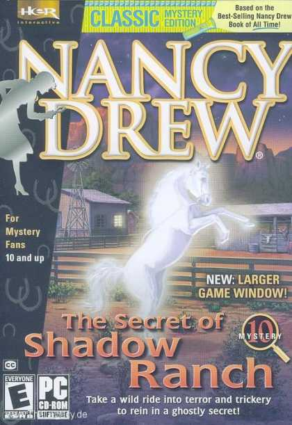 Misc. Games - Nancy Drew 10: The Secret of Shadow Ranch