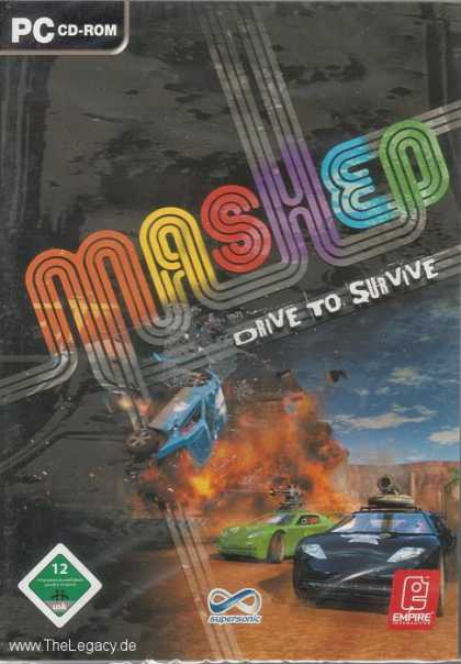 Misc. Games - Mashed: Drive to Survive