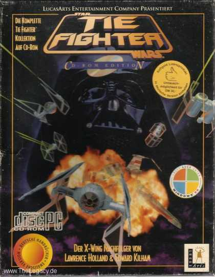 Misc. Games - Tie Fighter - Collector's CD-ROM