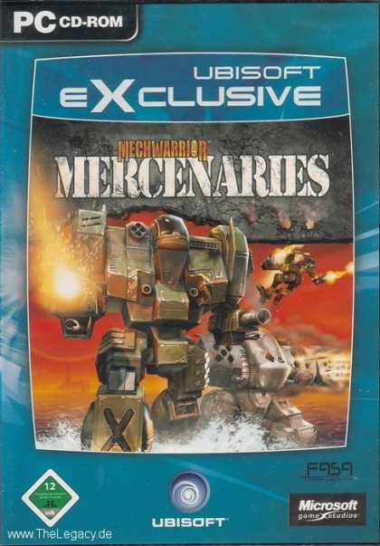 Misc. Games - MechWarrior 4: Mercenaries