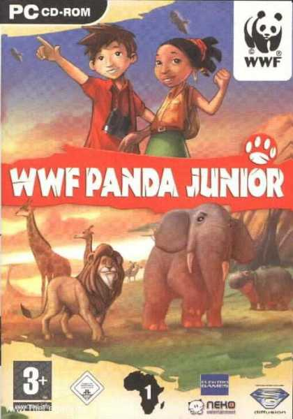 Misc. Games - WWF Panda Junior