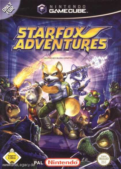 Misc. Games - Star Fox Adventures