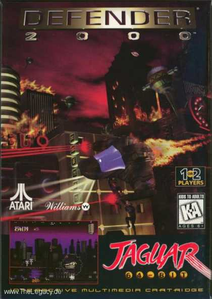 Misc. Games - Defender 2000