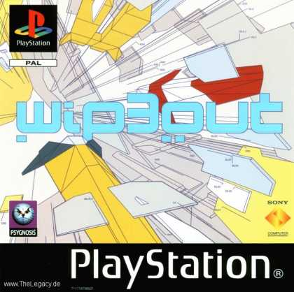 Misc. Games - Wipeout 3