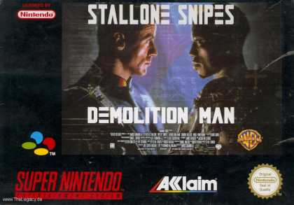 Misc. Games - Demolition Man