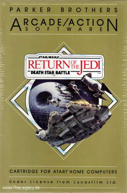 Misc. Games - Star Wars - Return of the Jedi: Death Star Battle