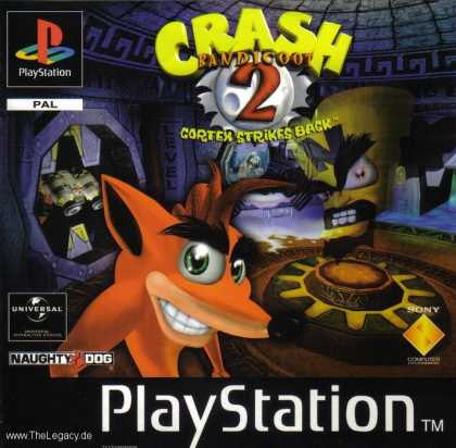 Misc. Games - Crash Bandicoot 2: Cortex Strikes Back